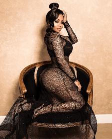 Blac Chyna posts steamy photos to celebrate the renewal of her reality show with Rob Kardashian